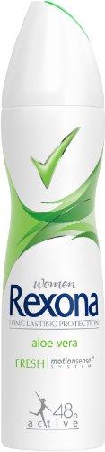 Rexona Aloe Vera Deospray Women, 6er-Pack (6 x 150 ml)
