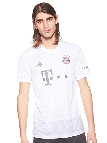 adidas Herren FCB A JSY Hemd, weiß, M