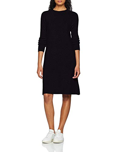 VERO MODA Damen Kleid Vmnancy Ls Knit Dress Noos