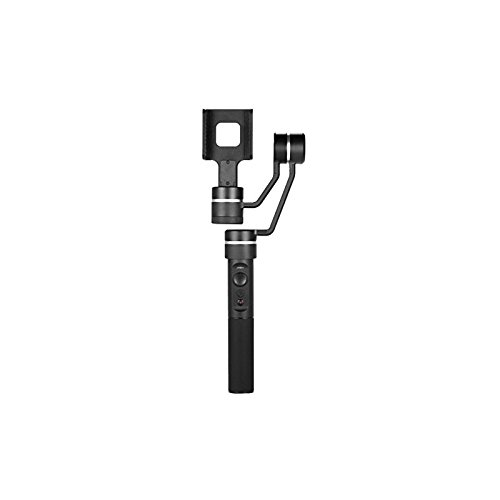 Feiyu Tech SPG - Gimbal de 3 ejes para Smartphone y Cámara deportiva, 8 horas, iPhone y Android compatible, bluetooth, color negro
