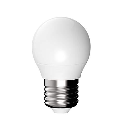 LED-Lampen, 3W, Äquivalent 25W, 250lm, warmweiß/weiß, E27 Medium Base, PC-Lampenschirm (Farbe : Weißes Licht, größe : 12w) - A19-glühlampen Medium Base