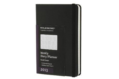 Moleskine Pocket Diary Weekly Horizontal 2013: Die ganze Woche auf zwei Seiten (Moleskine Diaries) (Planners & Datebooks)