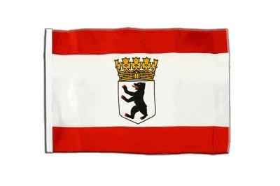 Flaggenfritze® Flagge Deutschland Berlin mit Krone - 30 x 45 cm (Krone Banner)