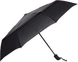 AmazonBasics Umbrella (Auto-Open & Close Function) - Black