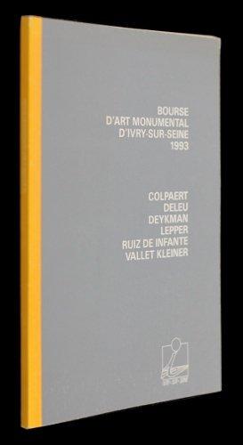 Bourse d'art monumental d'Ivry-sur-Seine 1993