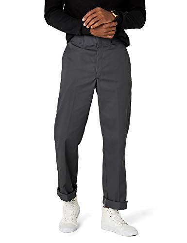 Dickies Herren Relaxed Hose Orgnl 874Work Pnt, Gr. W38/L34 (Herstellergröße: 38T), Grau (Charcoal Grey CH) Womens Elite Hose