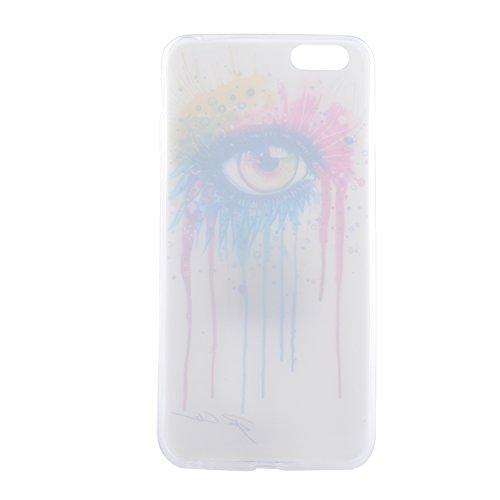 iPhone 6 hülle,iPhone 6S Case, Cozy Hut Kratzfeste Plating TPU Silicone Case Schutzhülle Ultra Dünn Tasche für mit iPhone 6 6S (4,7 Zoll) Hülle Case Transparent - Flamingos Augenfarbe