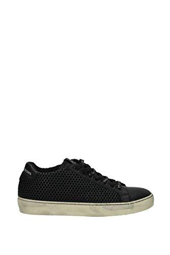 Leather Crown Sneakers Uomo - Pelle (MICONIC1NEROANTIQUEWHITE) 44 EU