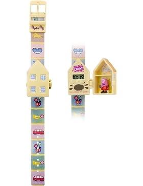 Peppa Pig Unisex-Armbanduhr Digital Kunststoff mehrfarbig PEP62