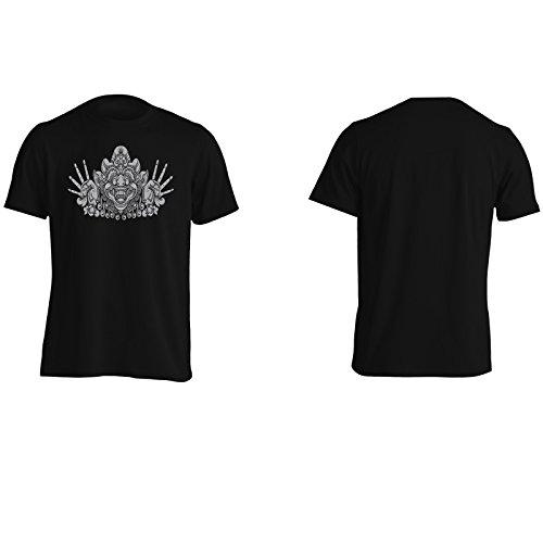 Nuovi Demoni Bali Art Uomo T-shirt i963m Black