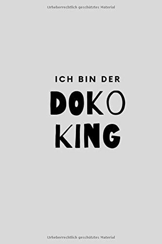Ich bin der Doko King: Das Notizbuch für Doppelkopfspieler