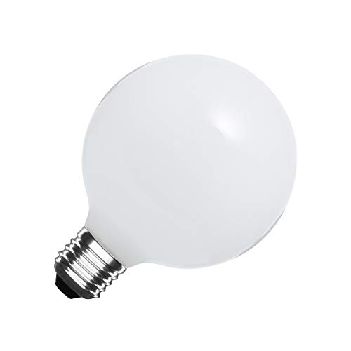Bombilla LED E27 G95 Glass 10W Blanco Frío 6000K