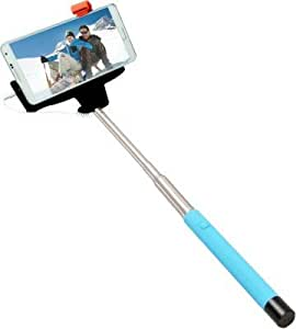 Generic Aux Selfie Stick For Micromax Canvas HD A116