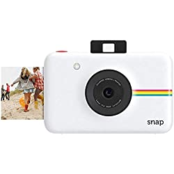 Polaroid Snap - Appareil Photo Numérique Instantané avec la Technologie d'Impression Zink Zero Ink, 10 Mp, Bluetooth, Micro Sd, 5 x 7,6 cm, Blanc