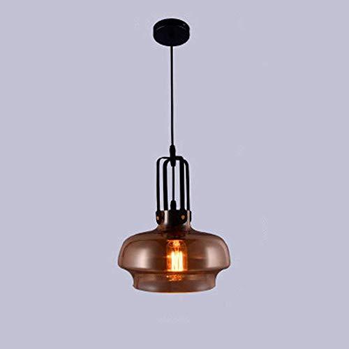 Linear-glas-anhänger (Lincjly Vintage Industrieküche Linear Island Glas Kronleuchter Anhänger Leuchte, einstellbare Edison Farmhouse Küche Lampe für Kücheninsel, Restaurants, Hotels und Geschäfte (Size : E27))