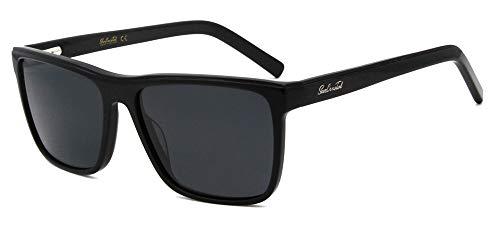 Men big shape polarized UV400 lens sunglasses