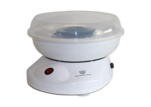 Zuckerwattemaschine Zuckerwatte Maschine 500 Watt Weiß
