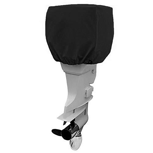 NOVSIGHT Außenborder Abdeckung Außenborder 210D Oxford Motorhülle Außenborder Persenning Abdeckung 30-60hp (Persenning Außenborder)