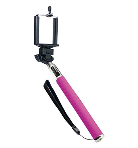 Braun Selfie Stick Fun con Asta a 7 Sezioni Allungabile Fino a 100 cm, Rosa