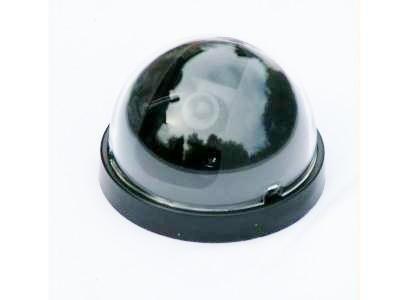 VisorTech Überwachungskamera-Attrappe Dome-Form