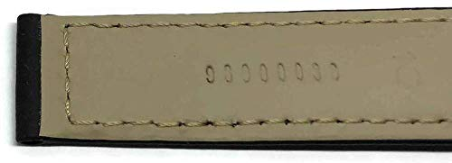 Authentisches Omega Uhrenarmband 18mm Rubber Black Deployment 98000038