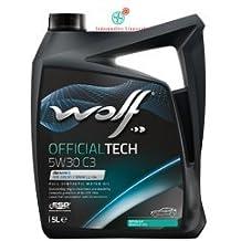 WOLF Olio motore 5 Litri OFFICIALTECH 5W30 C3 5L