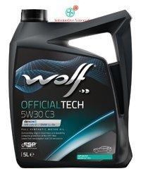 Wolf Motoröl 5Liter officialtech 5W30C35L