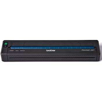 Brother PJ-623 PocketJet Etikettendrucker (300x300dpi, USB 2.0) schwarz/weiß