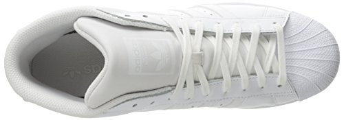 adidas Pro Model, Chaussures Montantes Homme White/White/White