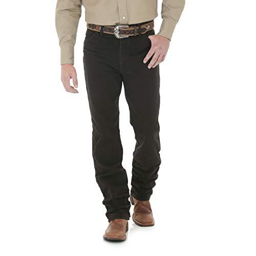 Wrangler Hombre Vaqueros Corte Slim Fit Jean - Marrón -