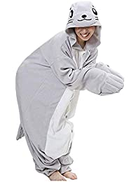 462c540dfd Cicik Unisex león Marino de Dibujos Animados Cosplay Anime Jumpsuit Dormir  Pijamas