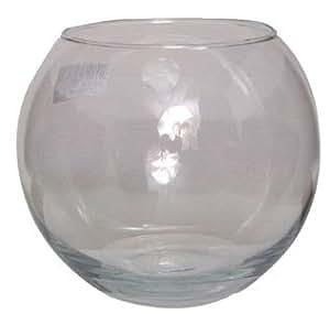 Glass Fishbowl Vase (15cm x 12cm)