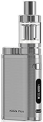 Eleaf - Kit Istick Pico TC 75w mit Melo 3 Mini - ohne Tabak & Nikoton - Farbe: Silber von Ismoka (Eleaf)