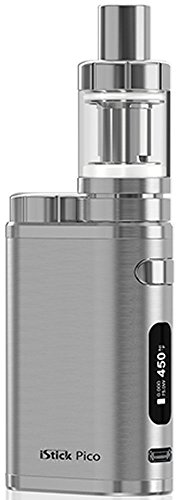 Eleaf iStick Pico TC 75 Watt / MELO 3 Mini Full Kit Farbe Brushed Silver