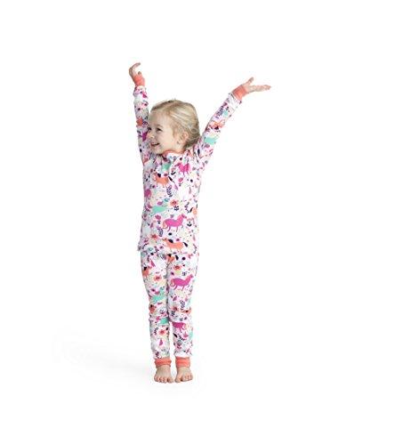 00369b93870ba1 Hatley Girl Organic Cotton Long Sleeve Printed Pyjama Sets, Pink (Roaming  Horses), 3 Years - Buy Online in Oman.   Apparel Products in Oman - See  Prices, ...