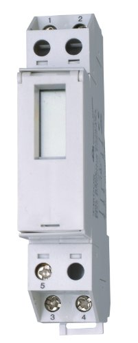 Kopp 198700012 Zeitschaltuhr, digital mit LCD