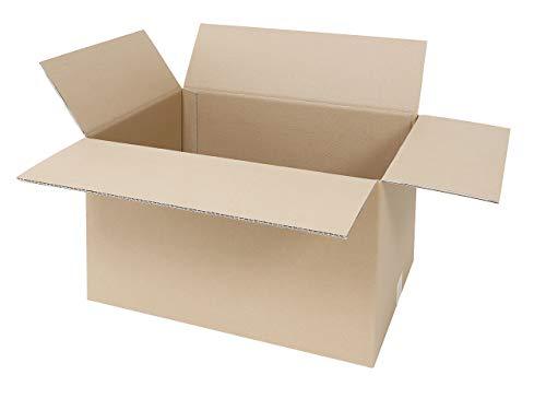 10 Faltkartons 600 x 400 x 400 mm   großer Versandkarton geeignet für DHL   2-wellige BC-Welle   5-100 Kartons wählbar