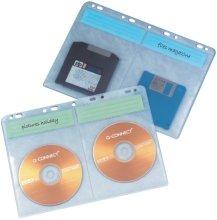 Q-Connect KF02203 Edv-Zubehöre CD Hüllen zum Abheften 10 stück