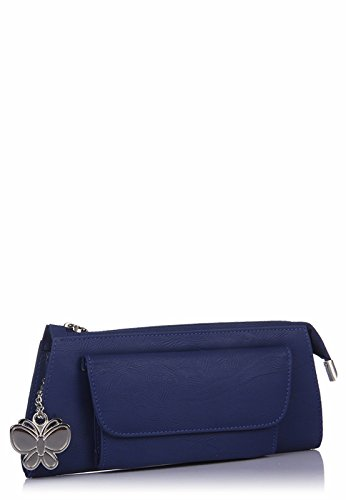 Butterflies-Womens-Clutch-BlueBNS-2288