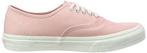Vans Unisex-Erwachsene Authentic Slim Sneaker Pink (brushed Twill/peachskin/blanc De Blanc)