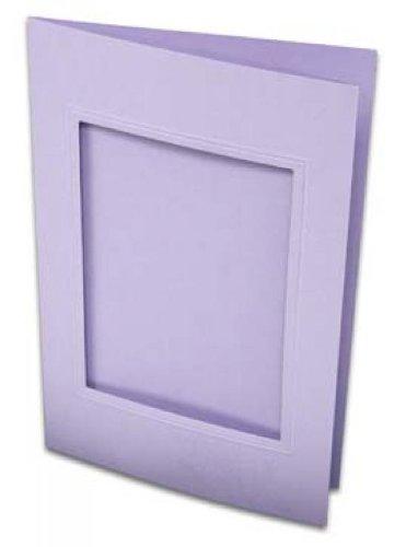 (Rössler Paperado-Karte Ft.B6 PP-eckig, Flieder VE = 100, Hersteller: Rössler)