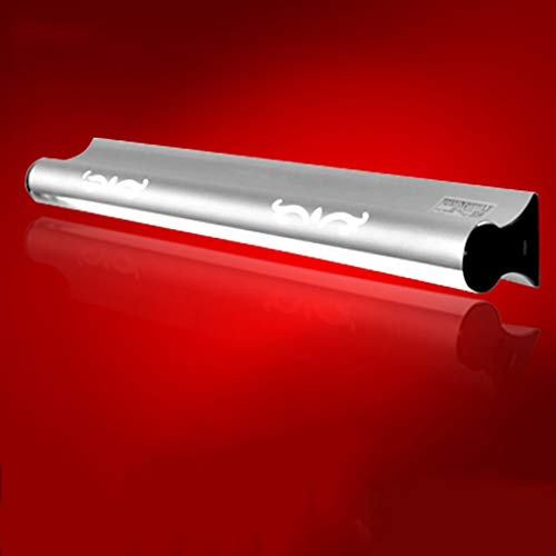 BAIF $ Spiegel frontleuchte LED Spiegelleuchte, Bad Badezimmerspiegelleuchte Make-up Einstellbarer Lochabstand Ändern Leuchtstoffröhre mit Schalter (Farbe: Warmes Licht-12W / 73cm) -