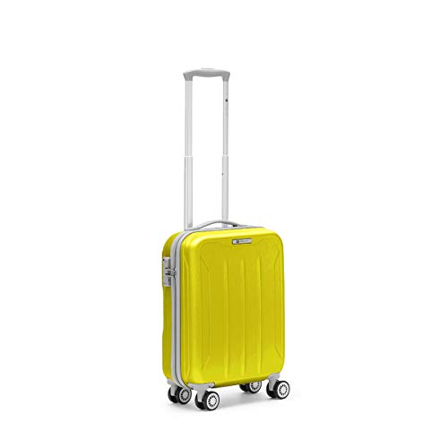 R Roncato, FLIGHT - Trolley Cabina in ABS 100%, Giallo