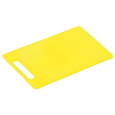 Kesper 2051553 Planche à Découper en Plastique Jaune 24 x 15 x 1 cm
