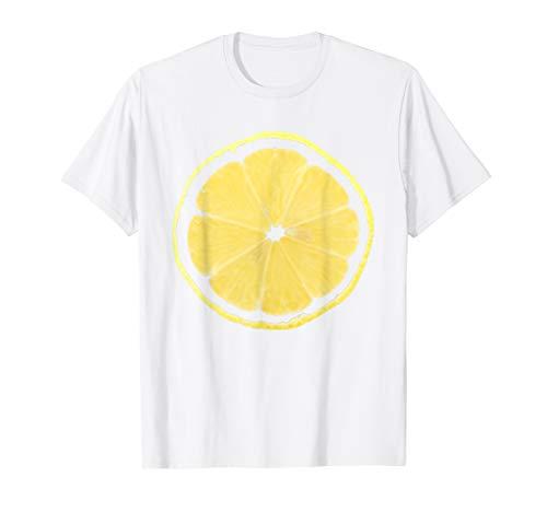 Für Erwachsene Kostüm Zitrone - Fasching Kostüm Zitrone Shirt für Fasnacht und Karneval