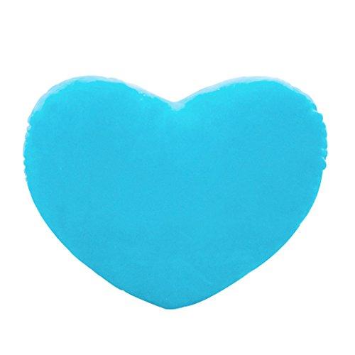 Haorw Herzkissen Plüschkissen Herzform für Geburtstag/Valentinstag, 15cm