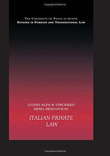PB Direct Italian Private Law di Vincenzo Zeno-Zencovich,Guido Alpa