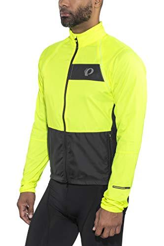 PEARL IZUMI Elite Escape Convertible Jacket Men Screaming Yellow/Black Größe M 2018 Wasserdichte Jacke