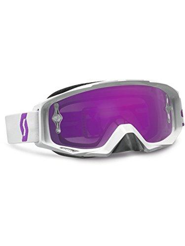 Scott Tyrant White / Purple / Purple Chrome Works,