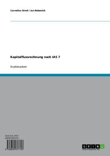 Kapitalflussrechnung nach IAS 7 (German Edition)